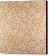 Mallow Wallpaper Design Canvas Print by William Morris