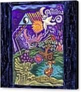 Manifest Destiny Canvas Print by Genevieve Esson