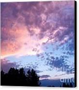 Marble Sky Canvas Print