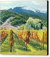 March Of November Canvas Print