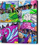 Mardi Gras Fun Canvas Print