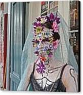 Mardi Gras Voodoo In New Orleans Canvas Print by Louis Maistros