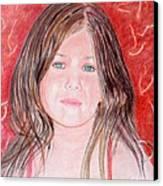 Maria Canvas Print by Kostas Dendrinos