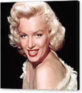 Marilyn Monroe, C. Mid-1950s Canvas Print by Everett