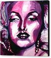 Marilyn Monroe Canvas Print by Hannah Chusid