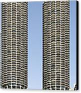 Marina City Chicago - Life In A Corn Cob Canvas Print