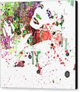 Marlene Dietrich 3 Canvas Print by Naxart Studio