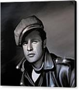 Marlon Brando  Canvas Print by Andrzej Szczerski