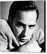 Marlon Brando, Early 1950s Canvas Print by Everett
