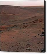 Mars Exploration Rover Spirit Canvas Print by Stocktrek Images