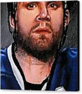 Marty St. Louis Canvas Print by Marlon Huynh