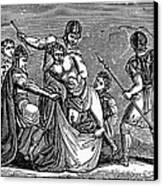 Martyrdom: Saint Julian Canvas Print by Granger