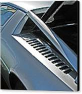 Maserati Merak Detail Canvas Print by Samuel Sheats