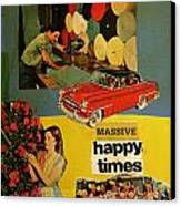 Massive Happy Times Canvas Print by Adam Kissel
