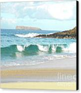 Maui Hawaii Beach Canvas Print by Rebecca Margraf