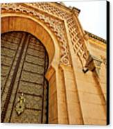 Mausoleum Of Mohammed V Canvas Print
