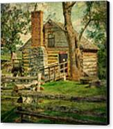 Mccormick Grist Mill Canvas Print by Kathy Jennings
