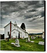 Mcelwee Chapel Series II Canvas Print by Kathy Jennings