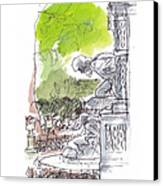 Medici Grotto Paris Canvas Print