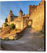 Medieval Carcassonne Canvas Print