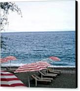 Mediterranean Beach Time  Canvas Print
