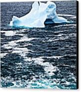 Melting Iceberg Canvas Print