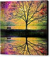 Memory Over Water Canvas Print