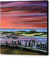 Menemsha Sunset Canvas Print