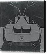 Mercedes Benz C IIi Concept Canvas Print by Naxart Studio