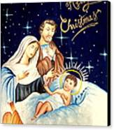 Merry Christmas Canvas Print by Tanmay Singh