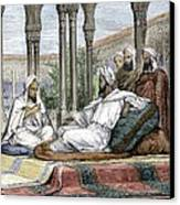Mesue The Elder, Persian Physician Canvas Print by Sheila Terry