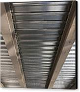 Metal Decking Over Structural Steel Canvas Print