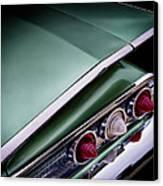 Metalic Green Impala Wing Vingage 1960 Canvas Print by Douglas Pittman