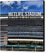 Metlife Stadium Canvas Print by Paul Ward