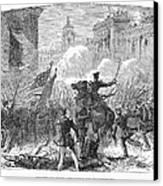 Mexican War: Monterrey Canvas Print by Granger