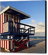 Miami Beach Watchtower Canvas Print