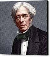 Michael Faraday, English Chemist Canvas Print
