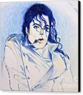 Michael Jackson - History Canvas Print by Hitomi Osanai