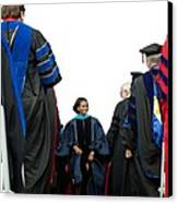 Michelle Obama Delivered Canvas Print