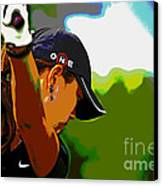Michelle Wie Canvas Print by Pascale Vandewalle