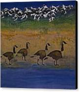 Migration Series Geese 2 Canvas Print