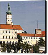 Mikulov Castle Canvas Print
