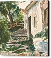 Millstone Aria Canvas Print by Frank SantAgata