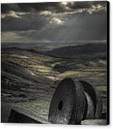 Millstones Canvas Print by Andy Astbury