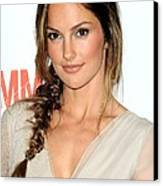 Minka Kelly At Arrivals For The Canvas Print by Everett