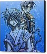 Misao And Aoshi Canvas Print by Tuan HollaBack