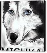 Mishka Fan Poster Canvas Print