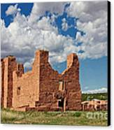 Mission To Quarai New Mexico Canvas Print by Christine Till