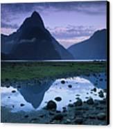 Mitre Peak Canvas Print by Atan Chua