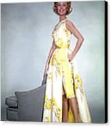 Mitzi Gaynor, 1950s Canvas Print by Everett